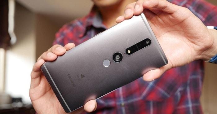Внешний вид камеры смартфона Lenovo