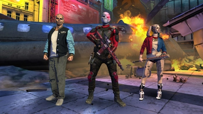 Видеоигра Suicide-Squad