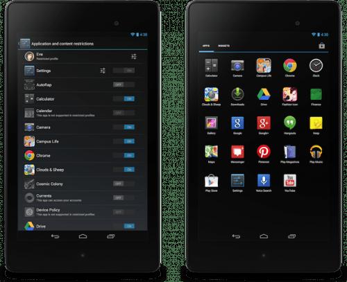 планшеты на андроид 4.3