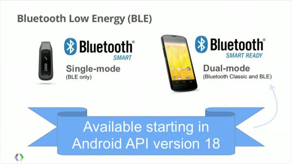 поддержка Bluetooth Low Energy