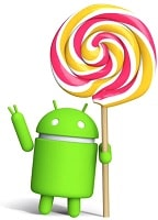 логотип ОС android 5.0 lollipop