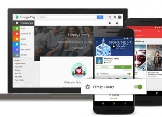 Семейная библиотека в Google Play