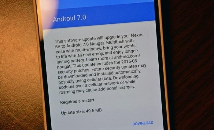 Операционная система Android Nougat