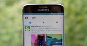 Скриншот приложения Twitter