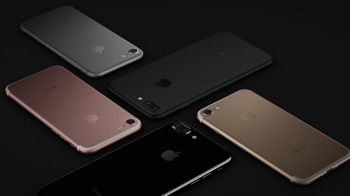 модельный ряд  iPhone 7