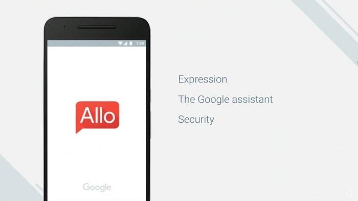 Мессенджер Google Allo