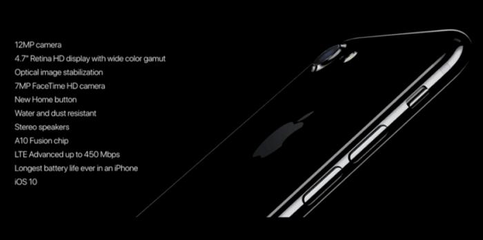 характеристики 7 айфона