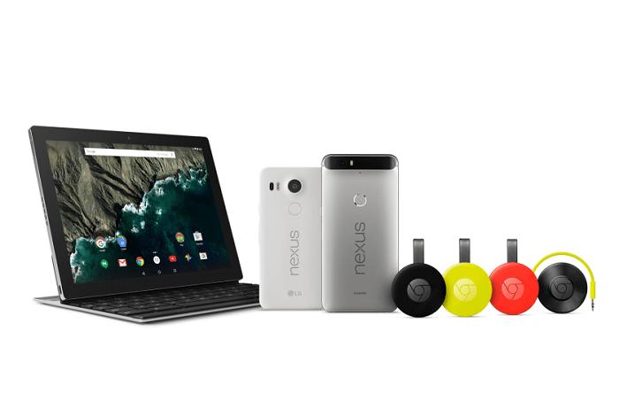 Google готовит Chromecast 4K, смартфоны Pixel, платформу Home и VR-шлем Daydream