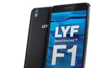 Смартфон lyf-f1