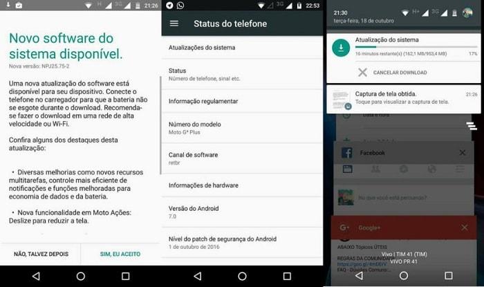 Тестирование Андроид Нуга на Moto G4 Plus
