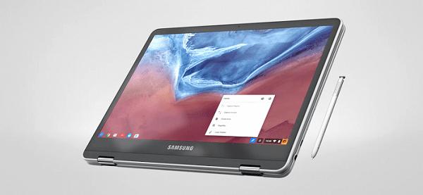 Режим планшета в samsung-chromebook-pro