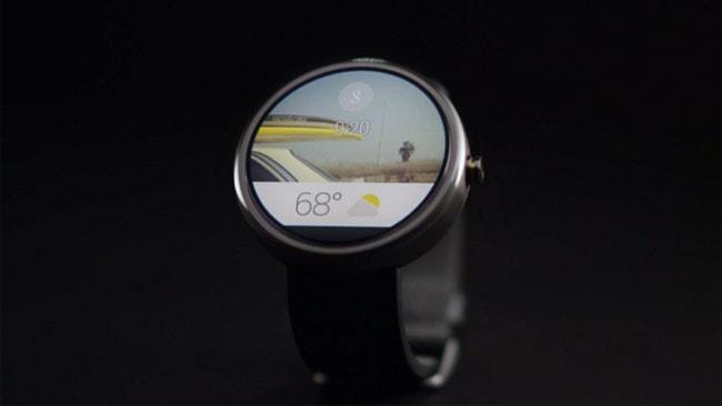 Умные часы htc-round-watch