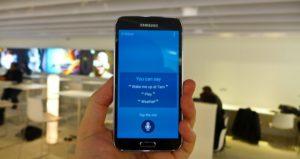 AI assistant для Samsung Galaxy S8