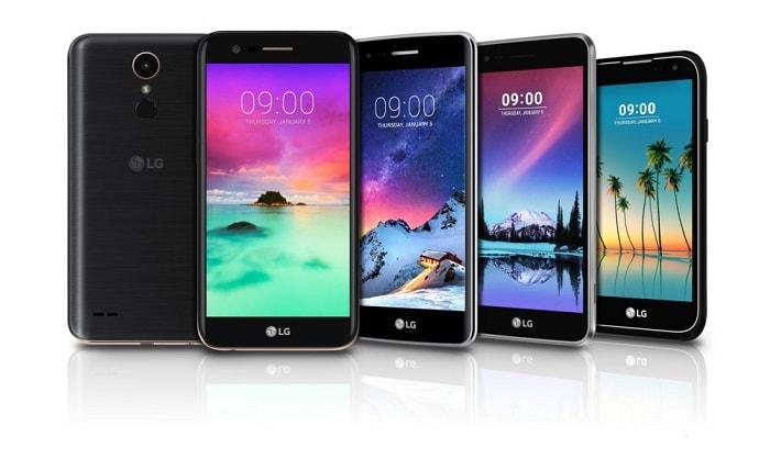 новинки смартфонов LG
