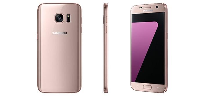 Смартфон s7-gold-ping