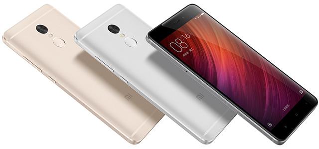 Смартфоны Redmi Note 4