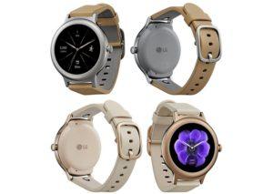 Умные часы LG выпустила умные часы Wear Style и Wear Sport
