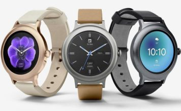 Умные часы LG Watch