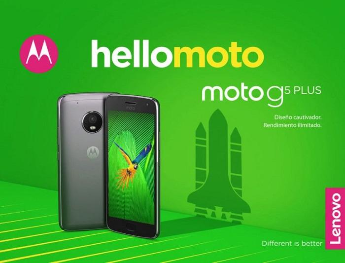 Смартфон Moto G5 Plus