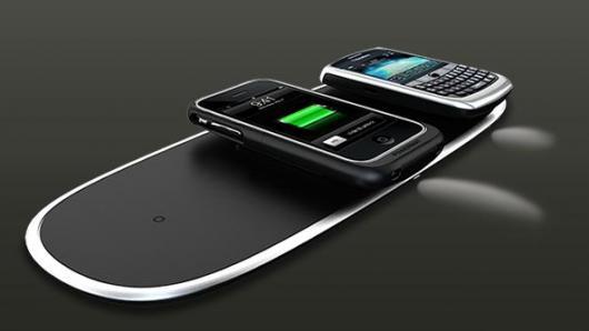 Беспроводная зарядка для двух телефонов