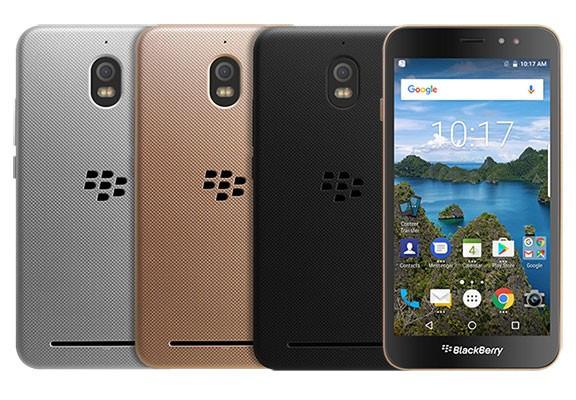 Смартфоны BlackBerry Aurora в разном цвете