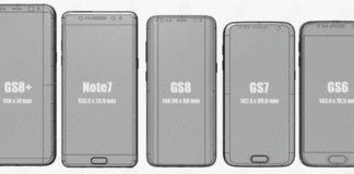 Смартфоны линейки Galaxy S8