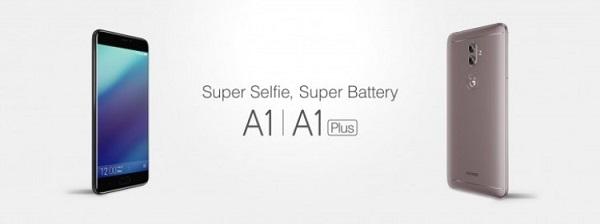Смартфоны Gionee A1 и A1 Plus