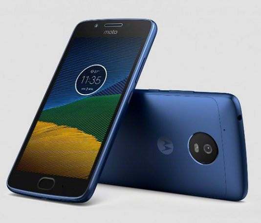 Смартфон Moto G5 Blue Sapphire