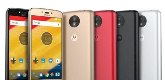 Смартфоны Moto C Moto C Plus