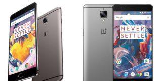 Смартфоны OnePlus 3 3T